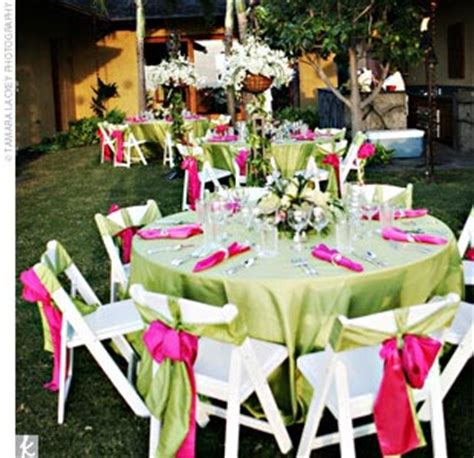simply lovely table coarl pink and green table colour combinations