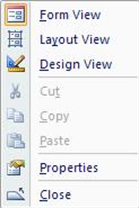 enable layout view access vba layout view in microsoft access 2007 and 2010