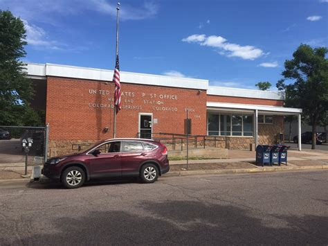 Post Office In Colorado Springs by Us Post Office Post Offices 204 S 25th St Colorado