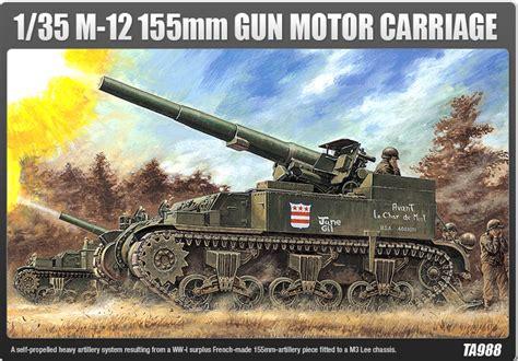 Metallzäune Modern 1394 by M 12 155mm Gun Motor Carriage Academy 1394 Maquette