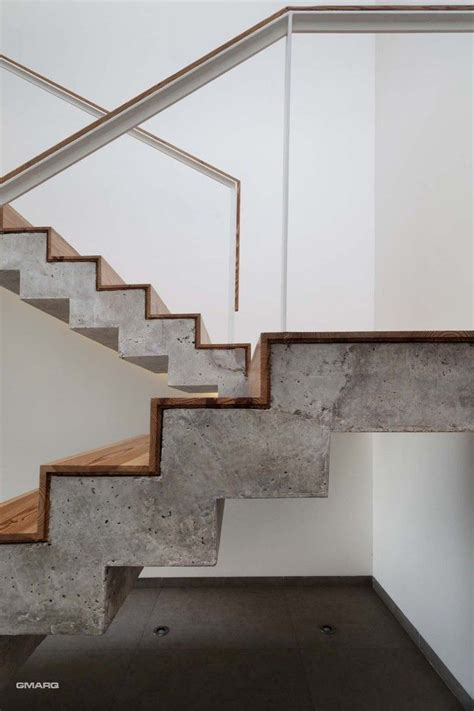 Cement Stairs Design Wood And Concrete A Match Made In Heaven Homedesignboard