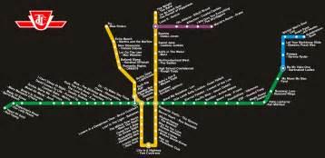 Toronto Metro Map by Pics Photos Ttc Map