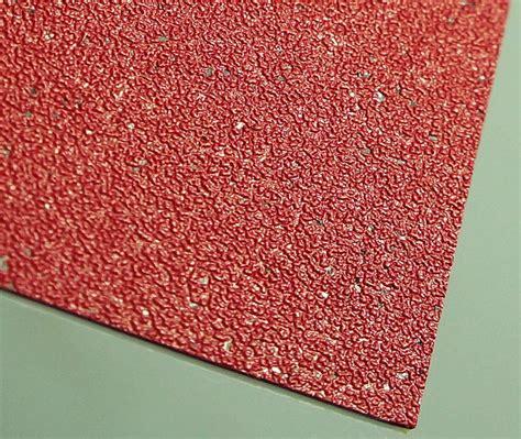 Silicon Carbide Embossed Grey PVC Sheet Vinyl Flooring