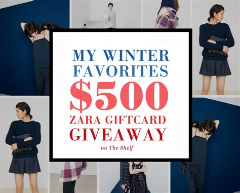 Giveaway Today - 500 zara giveaway by lauren m