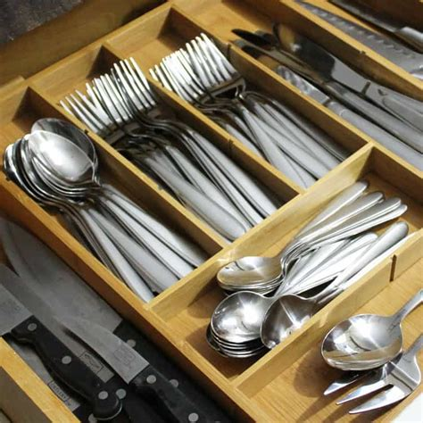 ditch the plastic try a multipurpose silverware drawer