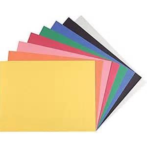 colored construction paper staples construction paper 9 quot x 12 quot assorted colors 200