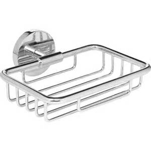 Storage In Small Bathroom by Polished Wire Soap Dish Chrome Toolstation