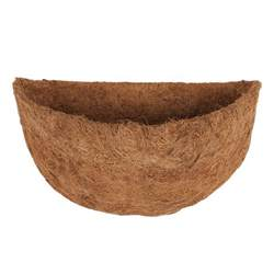 coconut coir basket liners for half wall