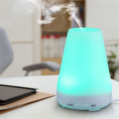 Ultrasonic Home Spa Humidifier 100ml aroma diffuser ultrasonic air humidifier purifier