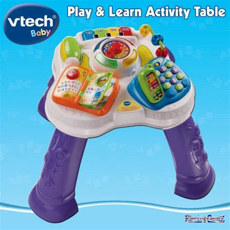 Vtech Activity Table by Vtech Baby Play And Learn Activity Table