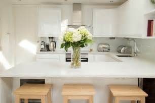 Modern Kitchen Designs Uk small modern white ikea kitchen in small kitchen design ideas a small