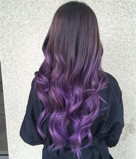 dark black brown to pastel ombre hair color trends 2015 the prettiest pastel purple hair ideas