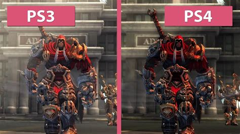 Sony Ps4 Darksiders Warmastered Edition darksiders ps3 vs ps4 warmastered edition remaster graphics comparison