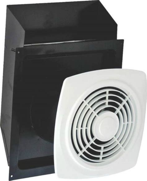 through the wall exhaust fan for bathroom air king ewf180 bath fan through the wall 180 cfm