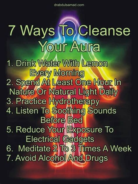 Detox Juice Recipes Aura by 7 Ways To Cleanse Your Aura Chakra We