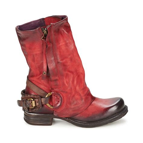womens red motorcycle boots vintage biker boots promotion shop for promotional vintage
