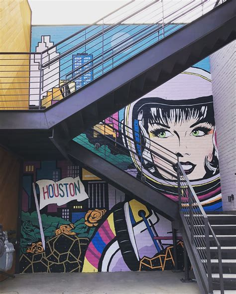 space city mural debuts  rice village