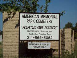 Grand Prairie Memorial Gardens by American Memorial Park Cemetery In Grand Prairie