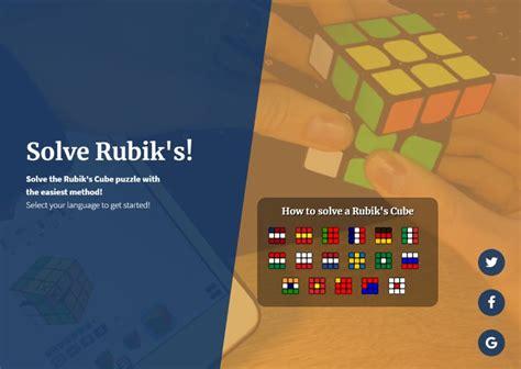tutorial solve rubik s cube solve rubik s cube the easiest tutorial
