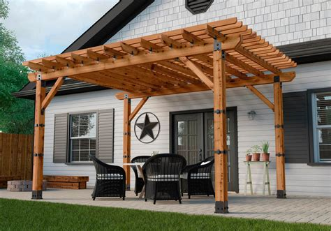 outdoor l posts base pergola post base outdoor goods