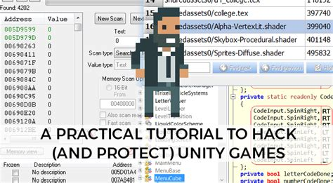 Tutorial To Hack | a practical tutorial to hack protect unity games alan