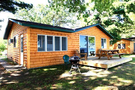 Leech Lake Cabins by Cabin 7 Big Rock Resort Leech Lake Minnesota