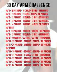 the 30 day arm challenge bruce the fit personal health fitness
