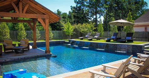Best Pool Designs Backyard Backyard Pool Designs Neaucomic