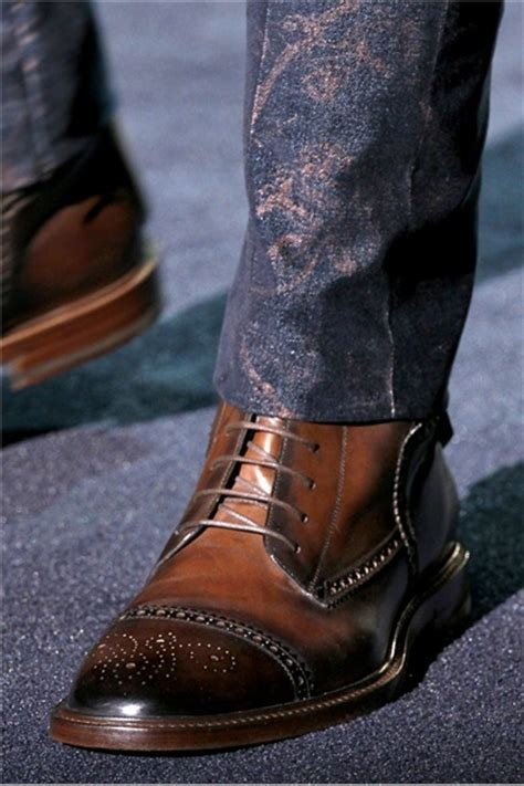 mens dress boots fashion s wingtip boots