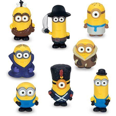 Minions Set Figure by Minions 8 Pack Mini Figure Walmart