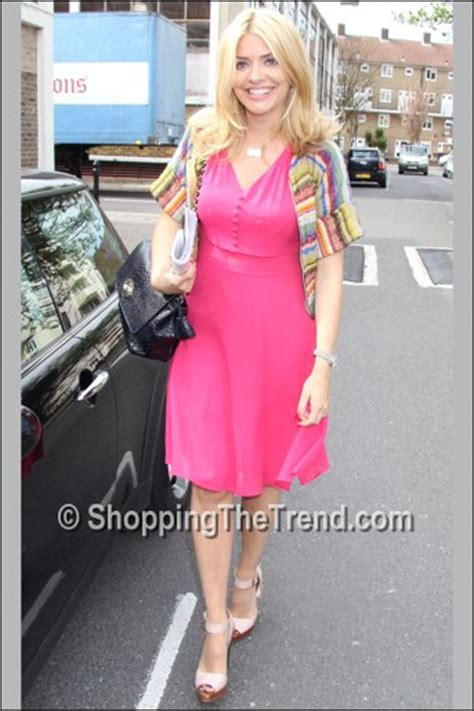 celebrity juice age rating shop holly willoughby pink dress by very celebrity juice