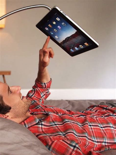 ipad stand for bed simple accessory lets you comfortably watch movies in bed