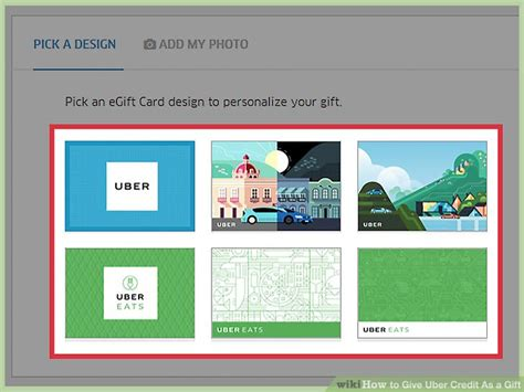Buy Uber Gift Card Online - how to give uber credit as a gift 11 steps with pictures