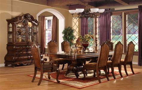 painted dining room sets elegant formal dining room sets with brown painted table