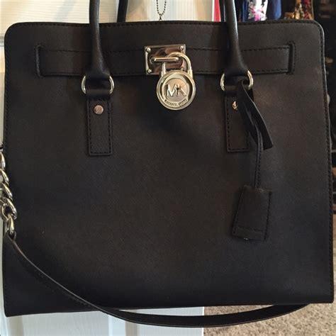 michael kor black people 18 off michael kors handbags michael kors black purse