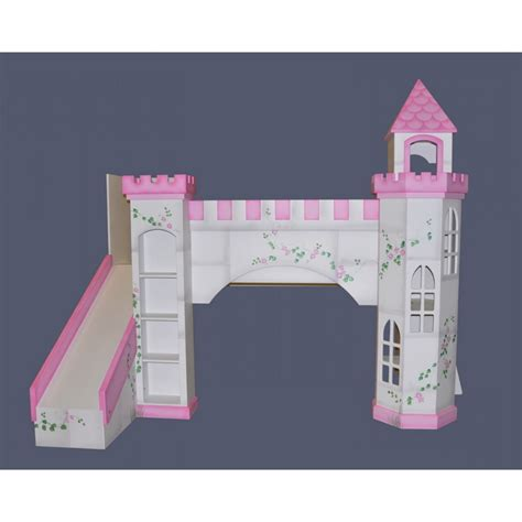 Castle Bunk Bed With Slide Castle Bunk Beds On Hayneedle Castle Loft Beds Princess Castle Size Tent Bunk Bed With