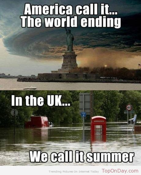 British Meme - we love talking about the weather great britain