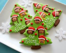 Christmas Treats by Christmas Family Tree Cookies With Printable Toppers