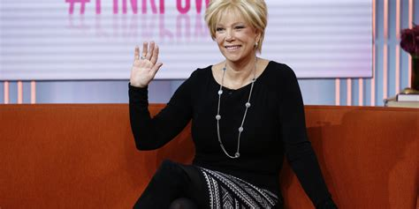 howdo you get hairstyle like joan lunden exclusive interview joan lunden tackles cancer and plans