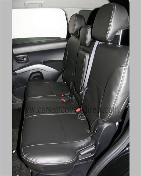 mitsubishi outlander car seat covers mitsubishi outlander tailored seat covers 2nd generation