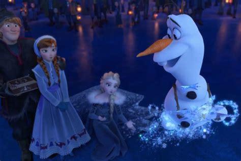 film frozen italiano frozen le avventure di olaf scoprite il trailer