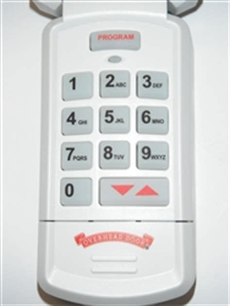Overhead Garage Door Keypad Overhead Door Wireless Keypad Okp Bx 37225r