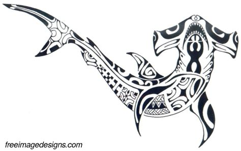 polynesian shark image design download free image tattoo