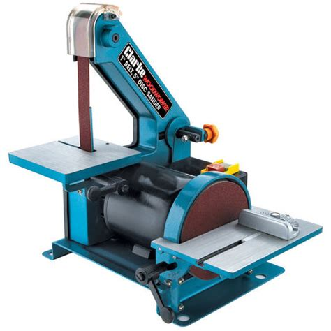 bench belt sander uk clarke cbs1 5 belt disc sander 230v machine mart