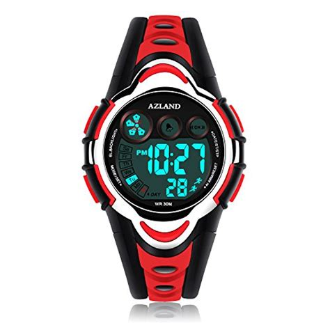 azland waterproof swimming sports boys led