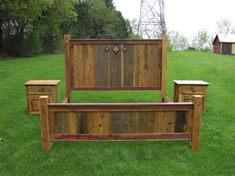 Barn Wood Bed Frames Barn Wood Bed Frames King Bed Set Of Antique Wood This Gorgeous King Bed Beds I Would