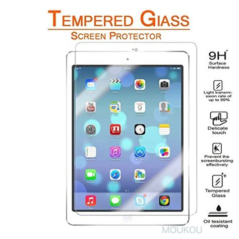 Pro 97 Inch 5 Air 2 Air2 Tempered Glass Screen Guard new 9 7 inch 2017 pro 9 7 inch 2016 air 2