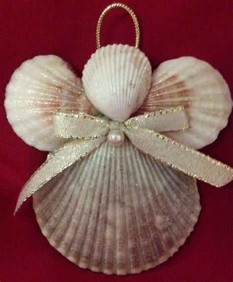 christmas crafts with shells seashell ornament decor nautical