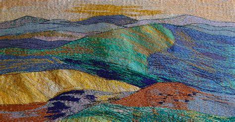 Landscape Textile art   TextileArtist.org