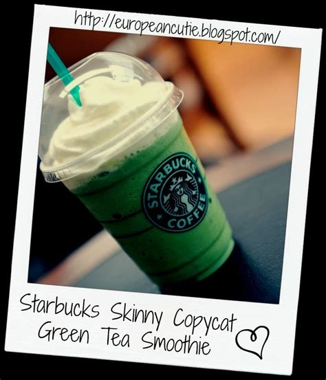 Detox Teas At Starbucks by Starbucks Copycat Green Tea Smoothie Recipe